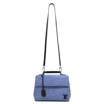 Louis Vuitton Blue Denim Epi Cluny BB
