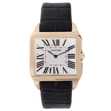 Cartier 18K Rose Gold Santos Dumont Watch W2008751