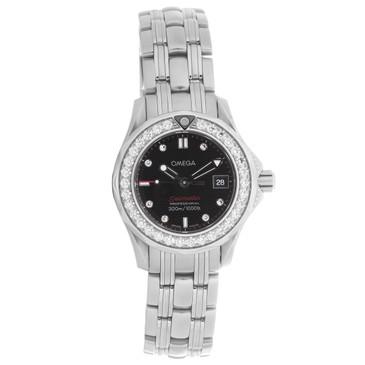 Omega Seamaster 300M Diamond Quartz Ladies Watch
