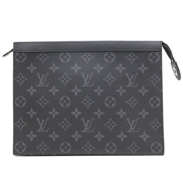 Louis Vuitton Monogram Eclipse Pochette  Voyage MM