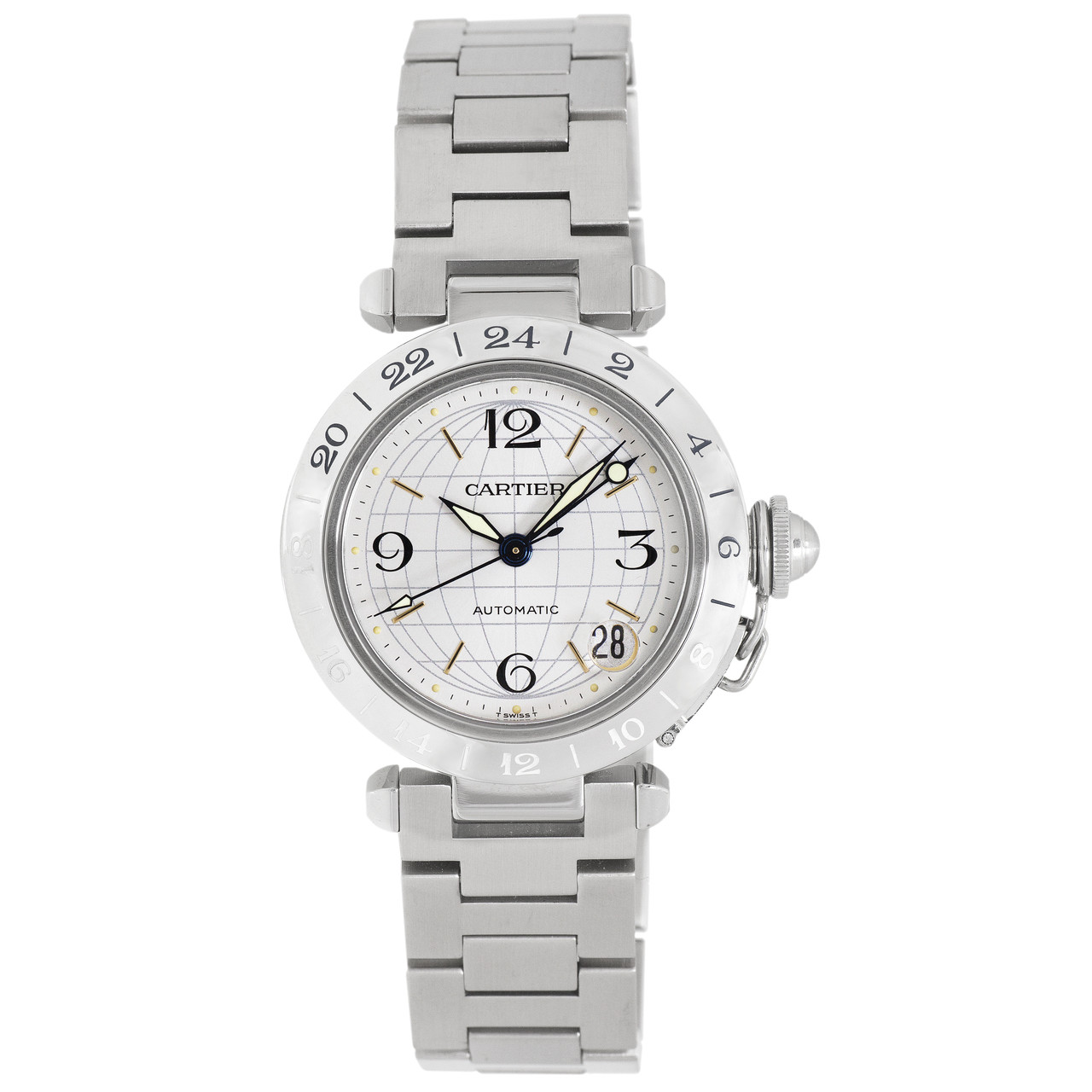 1bb533111b2e2 ... Cartier Pasha C GMT Meridian Automatic Watch W31078M7 to your wish  list. mgctlbxN$MZP mgctlbxV$5.1.11 mgctlbxL$C.