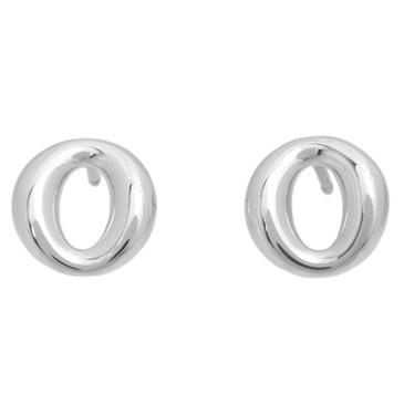 Tiffany & Co. Sterling Silver Sevillana Stud Earrings