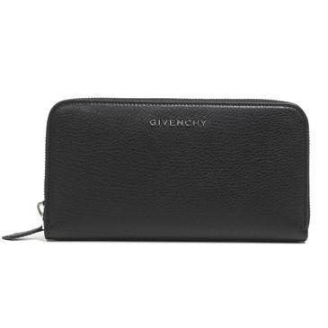 Givenchy Black Pandora Zip Around Wallet