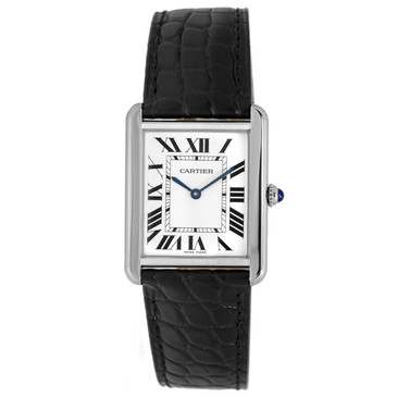 Cartier Stainless Steel Tank Solo Quartz 35mm Watch