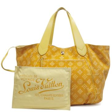 Louis Vuitton Yellow Canvas Cabas Ipanema GM