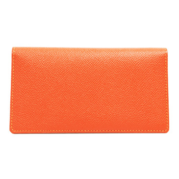 Hermes Orange Epsom Large Smart Case