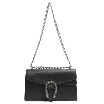 Gucci Black Small Dionysus Shoulder Bag
