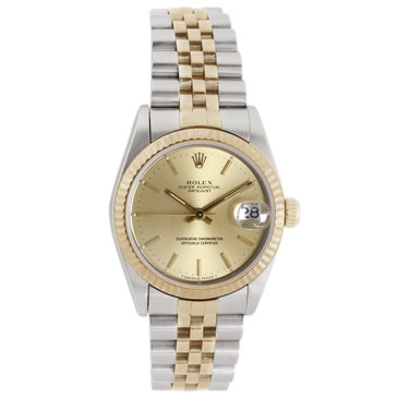 Rolex 18K & Stainless Steel Datejust 68273