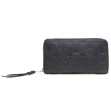 Louis Vuitton Noir Empreinte Zippy Wallet