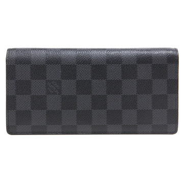 Louis  Vuitton Damier Graphite Brazza Wallet
