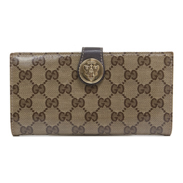 Gucci Crystal Canvas Hysteria Continental Wallet