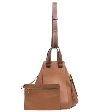 Loewe Tan Calfskin Hammock Bag