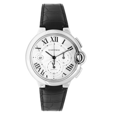 Cartier Stainless Steel Ballon Bleu Chronograph Watch