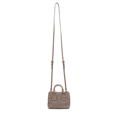 Prada Mini Nappa Gaufre Crossbody