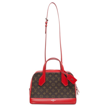 Louis Vuitton Coquelicot Monogram Dora PM