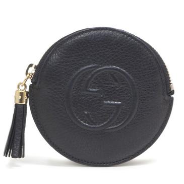 Gucci Black Soho Round Coin Purse