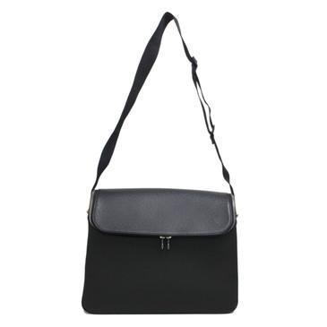 Louis Vuitton Black Taiga Taimyr Messenger Bag