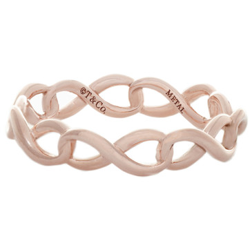 Tiffany & Co. Rubedo Infinity Narrow Band  Ring