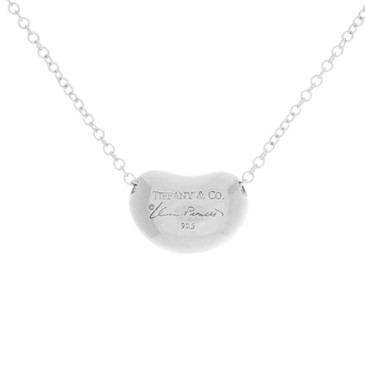 Tiffany & Co. Sterling Silver  Bean  Pendant