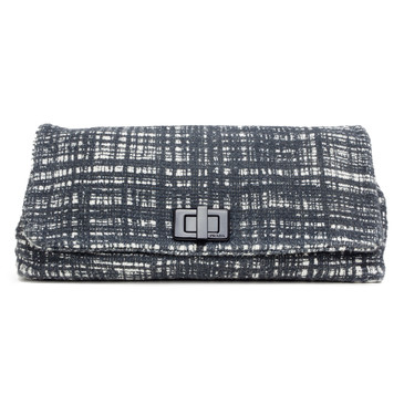 Prada Tela Tweed Clutch
