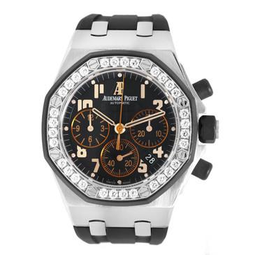 Audemars Piguet Royal Oak Offshore Chronograph Diamond Watch 26282SK.ZZ.D101CR.01