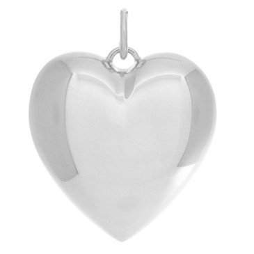 Tiffany & Co. Sterling Silver Ziegfeld Heart Pendant