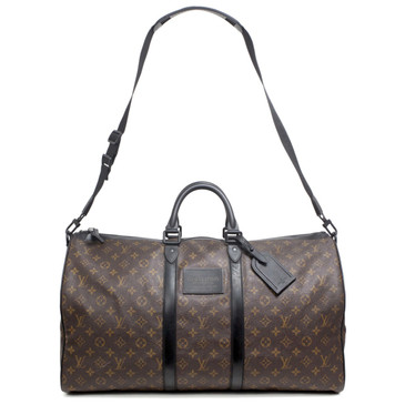 Louis Vuitton Monogram Waterproof Keepall Bandouliere  55