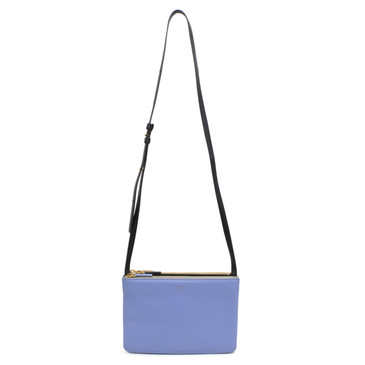 Celine Tricolor Lambskin Small Trio Crossbody