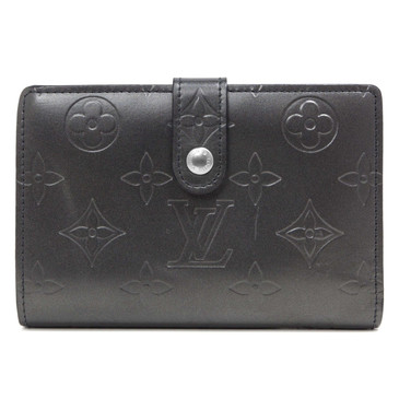 Louis Vuitton Charcoal Monogram Mat French Wallet
