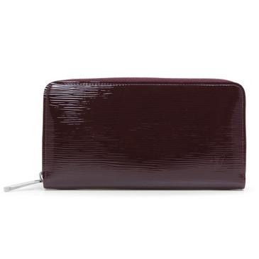 Louis Vuitton Prune Electric Epi Zippy Wallet