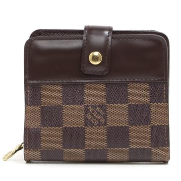 Louis Vuitton Damier Ebene Zippe Compact Wallet