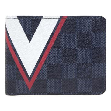 Louis Vuitton America's Cup Damier Cobalt Slender Wallet
