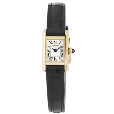 Cartier 18K Yellow Gold Mini Tank Ladies Watch