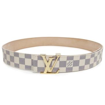 Louis Vuitton Damier Azur Initiales 40mm Belt