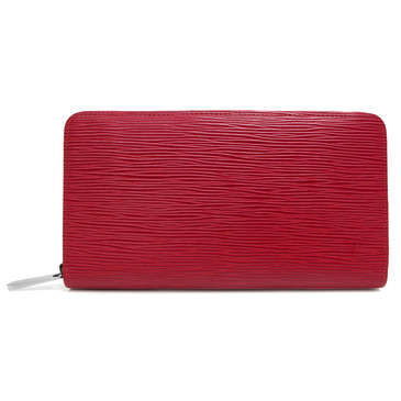 Louis Vuitton Red Epi Zippy Organizer