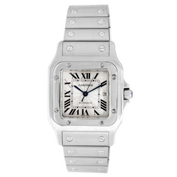 Cartier Stainless Steel Santos Galbee 29mm Automatic  Watch
