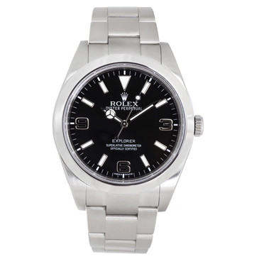 Rolex Stainless Steel Explorer 39mm 214270