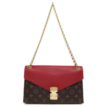 Louis Vuitton Monogram Cerise Pallas Chain Bag