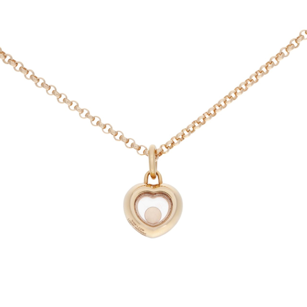 0dc3f9e0b Chopard 18K Rose Gold & Diamond Mini Heart Pendant - modaselle