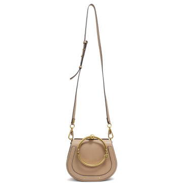Chloe Biscotti Beige Small Nile Bracelet Bag