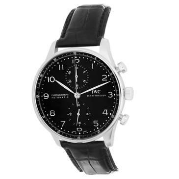 IWC Stainless Steel Portuguese Chronograph Watch IW371447