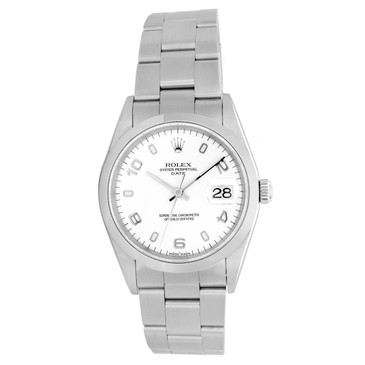 Rolex Stainless Steel 34mm Oyster Perpetual Date 15200
