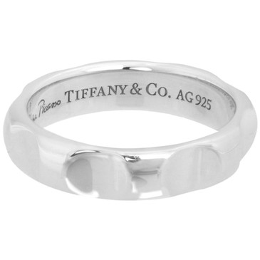 Tiffany & Co. Sterling Silver Paloma Picasso Groove  Ring