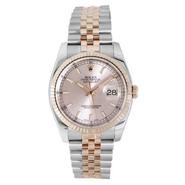 Rolex 18K Everose Gold & Stainless Steel Datejust 36 116231