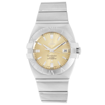 Omega Stainless Steel Constellation Double Eagle Co-Axial Watch 1503.10