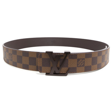 Louis Vuitton Damier Ebene Initiales 40mm Belt