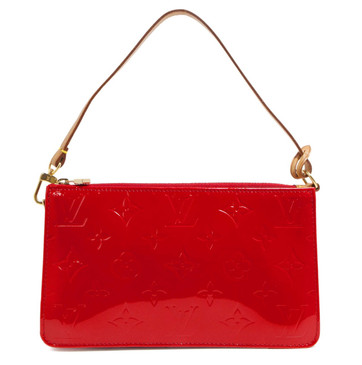 Louis Vuitton Red Vernis Lexington Pochette