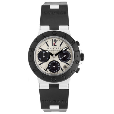 Bvlgari Diagono Aluminum Chronograph Automatic Watch AC 38 TA