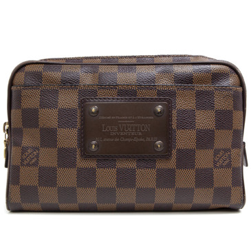 Louis  Vuitton Damier Ebene Brooklyn Bum Bag
