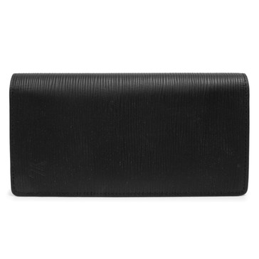 Louis Vuitton Noir Epi Brazza Wallet